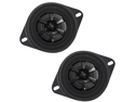 "New Pair Audiobahn Ams352h 3.5"" 2 Way 40W Car Audio Speakers 40 Watt 3 1/2"""