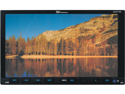"NEW XO VISION XOD1750 7"" DOUBLE DIN INDASH TOUCHSCREEN MOTORIZED DVD USB AND SD"