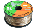 NEW PYLE RSW16100 16 GA 100' SPOOL CAR AUDIO TRANSLUCENT PURPLE SPEAKER WIRE