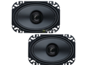 "New Pair Boss Brs46 50W 4X6"" Dual Cone Car Audio Factory Replacement Speakers"