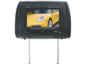 "SOUNDSTORM SH7CS 7"" WIDESCREEN TFT SINGLE UNIVERSAL HEADREST MONITOR 3 COLOR OPTIONS (WITHOUT DVID PLAYER)"