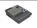 Podium Pro Audio 12 Channel Pro Audio Mic / Line Stereo Mixer Console with Bluetooth MX1204B