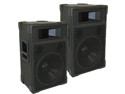 "Podium Pro TRAP12 PA DJ Band Karaoke 12"" Pro Audio Two Way Speaker Monitor Pair"