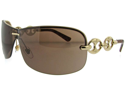 Gucci 2772S Sunglasses - (Gold / Dark Brown)