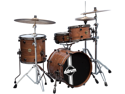 Ddrum Paladin Walnut Speakeasy 4-Piece Drum Set Shell Pack - Natural Walnut