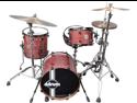 Ddrum Paladin Walnut Speakeasy 4-Piece Drum Set Shell Pack - Ember Red