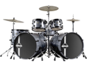 New Ddrum Defiant Double Bass Drum Set Shell Kit