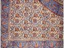 "Kalamkari Hand Block Print Tablecloth 60"" x 60"" Cotton"