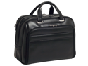 "McKlein Springfield 17"" Leather Laptop Case - Black"