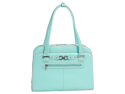 "McKlein Oak Grove Ladies' 15.4"" Laptop Case Aqua Blue $270"