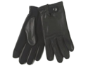 Dockers Mens Black Leather Texting Gloves Use Them With Your Iphone & Ipod