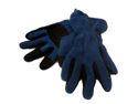 Peak Mens Blue & Black Microfleece Winter Snow Gloves L/XL