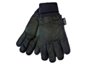Accessory Works Mens Cuffed Green Nylon Snow & Ski Gloves