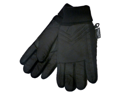 Accessory Works Mens Cuffed Black Nylon Snow & Ski Gloves