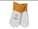 "Tillman 24C Top Grain Kidskin 4"" Cuff TIG Welding Gloves, Small"