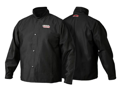 Lincoln Electric K2985  Traditional Flame Resistant Cloth Jacket, Large