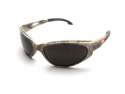 Edge TSM216CF Wolf Peak Dakura Polarized Safety Glasses, Camo/Smoke Lens