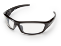 Edge SR111AR Wolf Peak Reclus, Safety Glasses, Black/Clear Anti-Reflective Lens