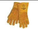 Tillman 495 Top Grain Pigskin Cotton/Foam Lined Welding Gloves, Large