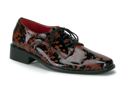 Vampire Zombie Blood Spatter Black Mens Shoes