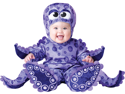 Baby Purple Octopus Infant Bodysuit Halloween Costume