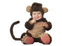 Cute Little Monkey Baby Infant Toddler Animal Jungle Costume