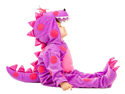 Baby Purple Dragon Toddler Puff Plush Halloween Costume