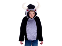 Kids Boys Girls Bull Cow Rodeo Animal Halloween Costume Hoodie