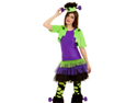 Tween Girls Frankenstein Monster Kids Halloween Costume