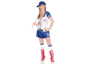Playboy Halloween Costume Sexy Kendra Baseball Girl