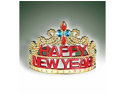 Holiday New Year Party Gold Princess Tiara