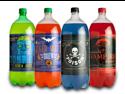Halloween Party Glow in the Dark Soda Bottle Labels Stickers