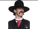 Adult Western Sheriff Costume Mens Black Cowboy Hat