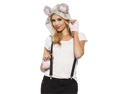 Adult Mouse Hood Adult Animal Halloween Costume Kit