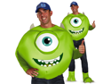 Mens Monsters University Mike Wazowski Adult Costume