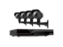 Defender Sentinel 4CH H.265 500GB Smart Security DVR with 4 x 600TVL IR Cut Filter 100ft Night Vision Indoor/Outdoor Cam