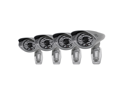 SVAT® 4 Ultra Resolution Outdoor 100 ft Night Vision Security Cameras with IR Cut Filter (11004)