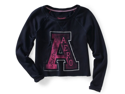Aeropostale womens AERO A Cut Off Sweatshirt - 427 - L