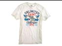 "ECKO UNLTD. ""Painters Oath Tee"" crew neck t-shirt - Blch White - M"
