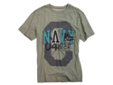 CAVI mens Graphic T Tee Shirt - Heather Grey - XL