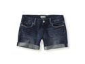 Aeropostale womens dark wash boyfriend denim shorts - 189 - 00