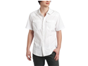 "Ecko UNLTD. mens ""DON't FRET SS WOVEN"" button front shirt -Blch White - M"
