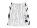 Aeropostale mens AERO NY lined basketball athletic shorts - 102 - XS