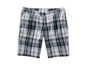 Aeropostale womens plaid button front walking shorts - Navy Ni Plaid - Size 00