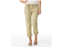 Aeropostale womens full length khaki chino pants w/ belt - Beige - 00