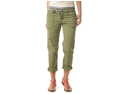 Aeropostale womens full length khaki chino pants w/ belt - Army - 00