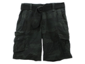 Aeropostale mens dark camo longer length belted cargo shorts - 001 - 27