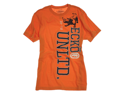 "Ecko Unltd mens ""TOPPER CORE""  Graphic T Tee Shirt - ORANGE PEEL - S"