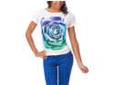 Aeropostale Juniors Sequin Rose Graphic T-Shirt 102 L