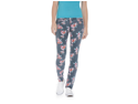 Aeropostale Juniors Ashley Ultra Floral Pattern Skinny Fit Jeans 001 7/8x30